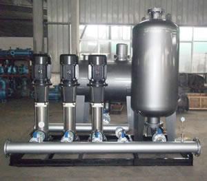 不锈钢恒压变频供水机组