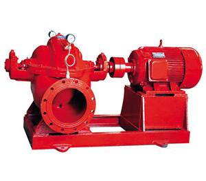 XBD-S型卧式单级双吸消防泵