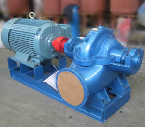 S、SH型单级双吸离心泵
