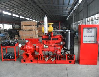 XBC系列柴油机消防应急泵组